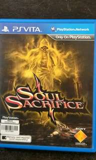 PSVita Soul Sacrifice (PS Vita)