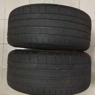 Michelin PSS 265/35/20 2pcs 70% no patch