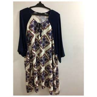 Used Once Something Borrowed Shift Dress