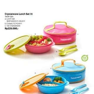 Crystalwave Lunch Set Tupperware