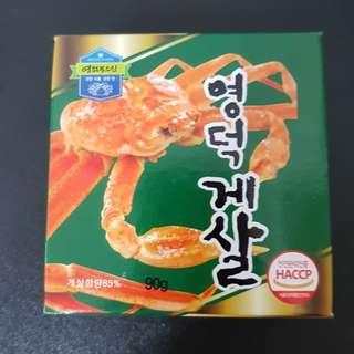 🚚 蟹肉罐頭