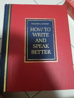 Reader Digest - How to write and speak better