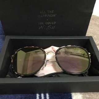 🚚 正韓超小臉紫色超好看的個性太陽眼鏡墨鏡