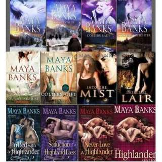 (Ebook Collection) Maya Banks