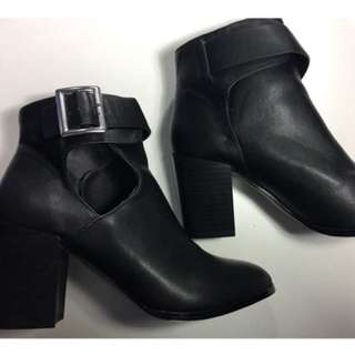 ASOS Cutout Ankle Boots - NEW