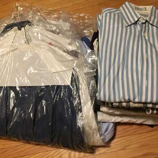 Various men's shirts