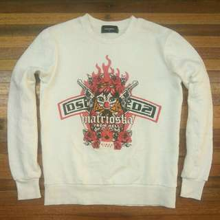 DSQUARED2 Crewneck Sweater Made in Italy