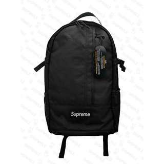 Supreme SS18 Backpack Black