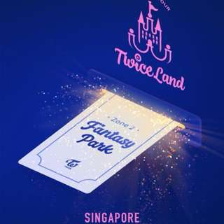 [HTB]TWICE CONCERT TICKETS