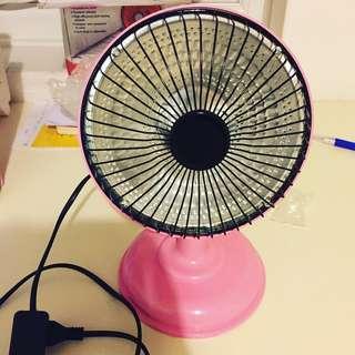 Portable 5 Inch Mini Heater Fan