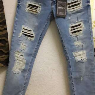 Oronero ripped jeans (camo ripped)