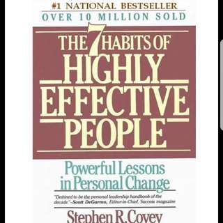 PDF book - The 7 Habits of Highly Effective People
