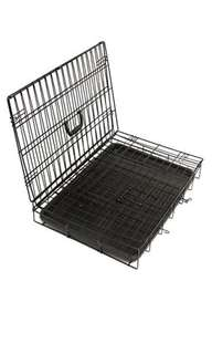 "Folding Crate - Double Door - OxGord 107cm (42"") XXL crate"