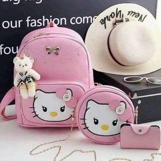 3in1 Hello Kitty Bag