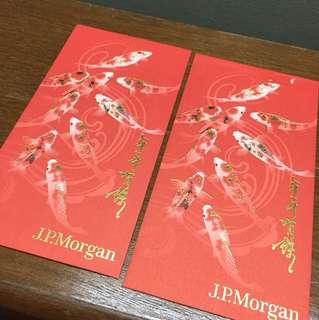 (2pcs) J.P.Morgan Ang Pow Packets