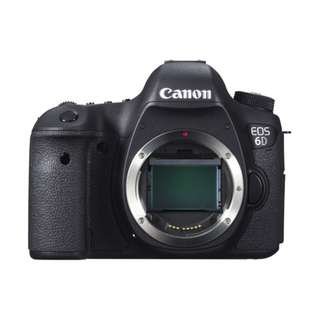 New Canon EOS 6D DSLR Body Only (Imported Set)