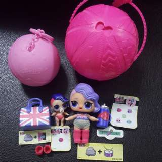 Lol surprise doll - colour changing Cheeky Babe & lil Cheeky babe