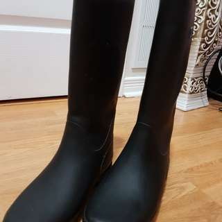 Tretorn Rain boots with furr