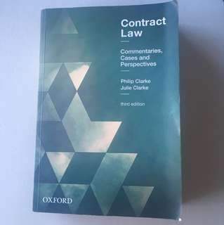 Contract Law commentaries, cases and perspectives