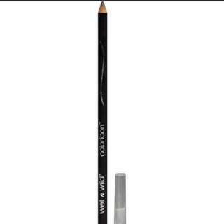INSTOCK Wet N Wild Coloricon Brow & Eyeliner Pencil / Wet N Wild Color Icon Brow and Eye Liner Pencil in 649 MINK BROWN