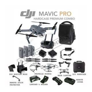 DJI Mavic Pro Hardcase Premium Combo ( Fly More Combo + Hardcase and Accessories)