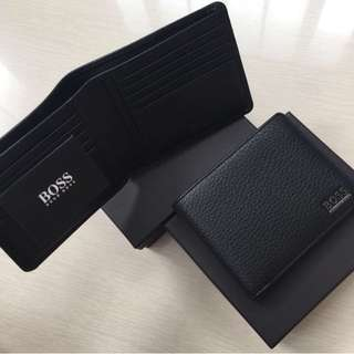 New hugo boss men's wallet