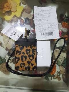 Coach lanyard bnwt/receipt/authentic