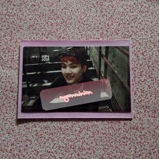 BTS Bangtan Boys Suga Min Yoongi Dark and Wild Official Album Photocard