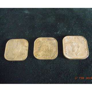 OLD CURRENCY COINS