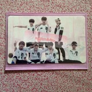 BTS Bangtan Boys O!RUL8,2? Official Album Group Photocard