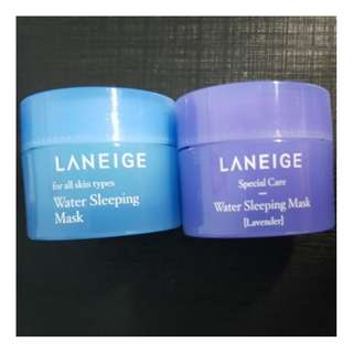 BN LANEIGE Water Sleeping Mask (Lavender) 15ml