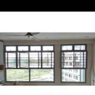 Repairs for all kinds of Window Grilles, Sliding / Casement Window, Glass Doors