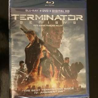 Terminator Genisys Blu-ray new sealed