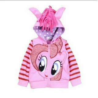 My Little Pony Jacket- Pinkie Pie Size 150 Age 8 - 9