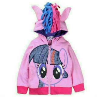 My Little Pony Windbreaker Jacket - Twilight Sparkle Size 150cm Age 8 - 9 Yrs
