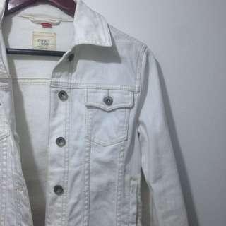 Esprit White Denim Jacket