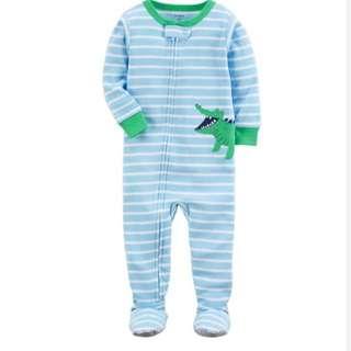 Carter's Alligator Footed Pyjamas