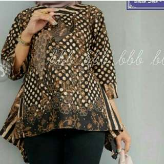 Batik sogan high low top