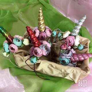 Handmade unicorn hairband <<READY STOCK>>