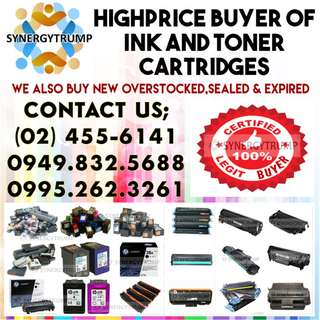 HIGHER PRICE BUYING OF EMPTY INK AND TONER CARTRIDGES