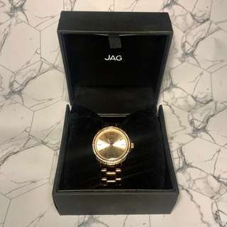 Jag Rose gold watch