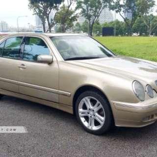 Mercedes-Benz E200 Auto Kompressor