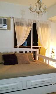 Fully Furnished Studio Unit For Rent In Quezon City