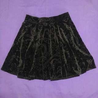 F21 Velvet Skirt
