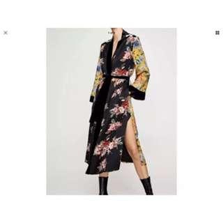 Zara Kimono Style Jacket Coat RRP 159