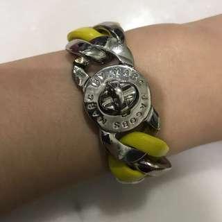 Marc Jacob Gelang Kuning Yellow Chain Bracelet (Authentic)