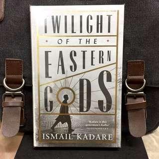 # Novel《Bran-New + Hardcover Edition + Winner of The Man Brooke International Prize Fiction》Ismail Kadare - Twilight Of The Eastern  Gods