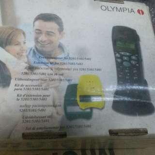 室内无線电話,全新未用,无保用。