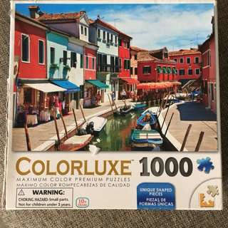 1000 piece Colorluxe jigsaw