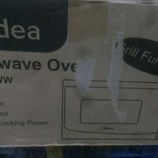 美的微波燒烤焗炉
